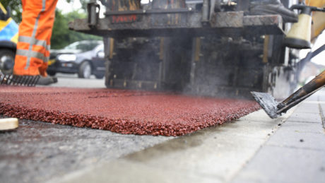 coloured asphalt, asphalt paving, asphalt, vancouver paving, richmond blacktop