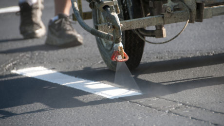 road striping, roads, paint, richmond blacktop, blacktop, asphalt, concrete