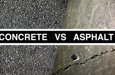 richmond blacktop, pros and cons of asphalt and concrete