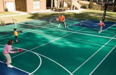 Sports Court Paving Services
